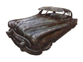 Glorifying Vintage Car Dimensional Wall Decor - $164.69