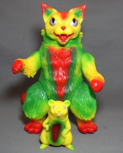 MaxToy SDCC King Negora and Mouse