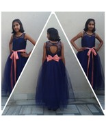 Floor Length Ball Gown in Royal Blue Color - $63.99+