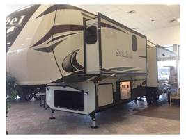 2015 Prime Time Sanibel 3601 Fifth Wheel For Sale In Spicewood RV Park, TX 78669 image 1