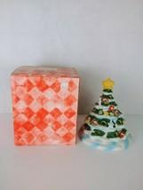"Christmas Tree Tealight Candle Holder Holiday Decor 6"" tall - $9.48"