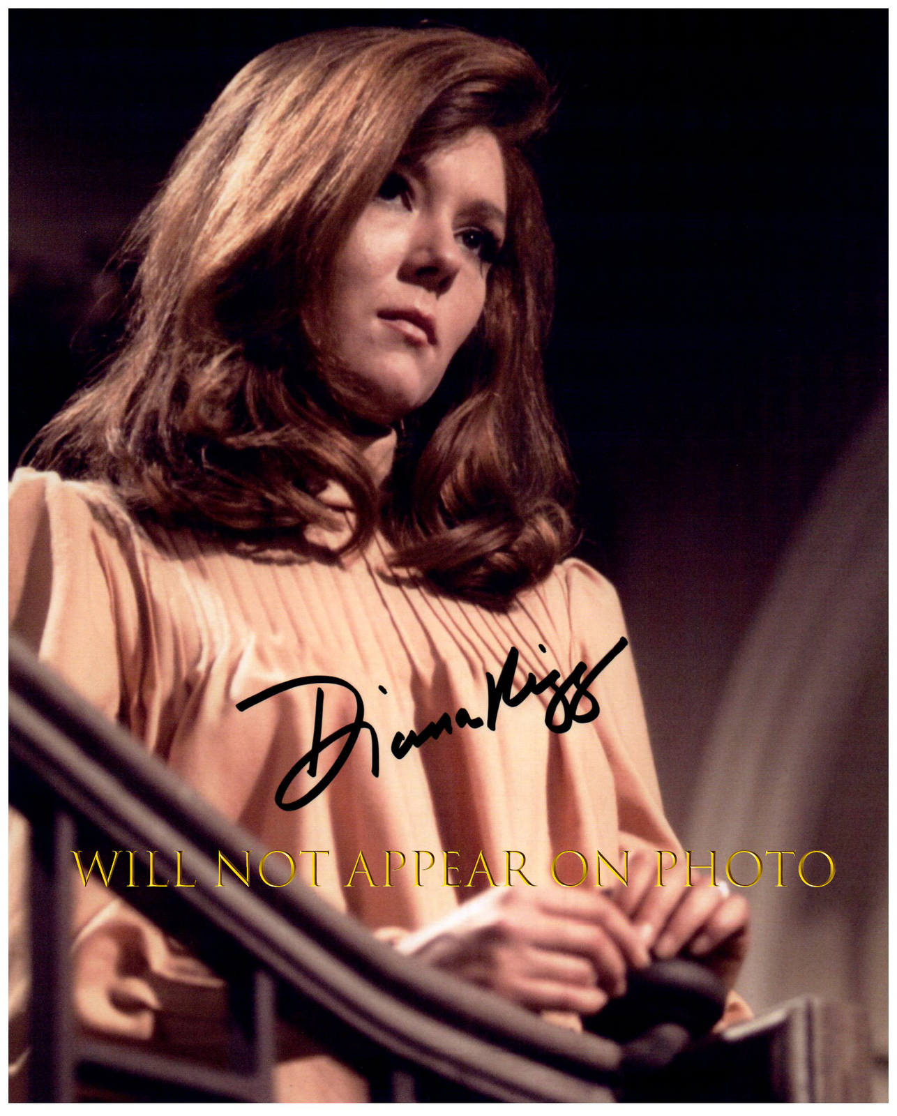 Primary image for DIANA RIGG Signed Autographed 8X10 Photo w/ Certificate of Authenticity 2800