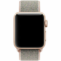 GENUINE Apple Watch 42mm/44mm Sport Loop Band Pink Sand MQW92AMA/A NEW image 3
