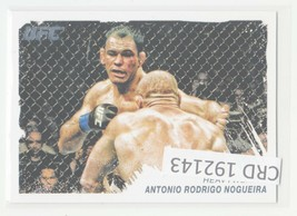 2011 Topps UFC Moment of Truth Card #50 Antonio Rodrigo Nogueira 192143 - $0.98