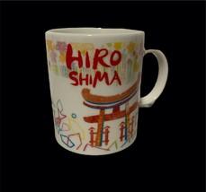 2016 Starbucks International Hiroshima Japan Ceramic Mug Made in Japan - $79.17