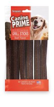 Canine Prime beef flavored rawhide grill sticks Made in the USA - $1.90