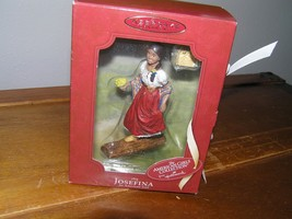 Hallmark Keepsake American Girl Doll JOSEFINA Walking on Log Christmas Tree - $46.57