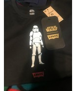 NEW LEVI'S Star Wars Storm Trooper Perfect TEE T-SHIRT Womens ExtraLarge... - $24.73