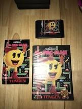 1991 Mrs. PacMan Sega Genesis Video Game Cartridge w/ Manual & Case - $27.00