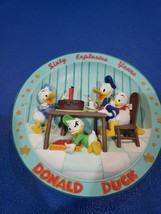 Loveable Rare Donald Duck Collectible Plate Wall Decor - $13.09