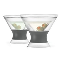 Martini FREEZE Cooling Cups set of 2 by HOST - $21.36