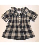 Joe Fresh for JC Penny Toddler Girls Plaid Shirt Size 2 Years NWT - $10.08