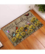Always Stay Humble And Kind – Sunflower Doormat, Sunflower Lover Gift - $29.65+