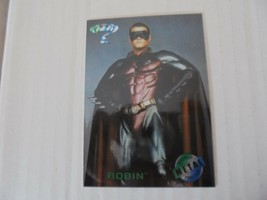 Robin Batman Forever 1995 Fleer Metal Insert Trading Card #7 NM/M Condition - $1.79