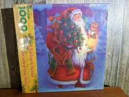"""Springbok Jigsaw Puzzle """"A Visit from St. Nicolas"""" 1000 Piece New - $24.95"""