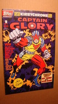 CAPTAIN GLORY 1 *VF/NM 9.0* TOPPS COMICS JACK KIRBY ART - $2.00
