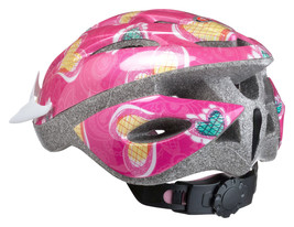 Girls Bicycle Helmet Pink Hearts Child Skateboard Bike Sports Cycling Safety  - $29.16