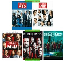 Chicago Med Complete Series Seasons 1 2 3 4 5 DVD Collection Sealed New ... - $51.00