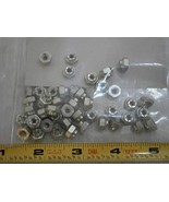 21FA832 Flexlock Nut Steel #8-32 CAD Plated LOT of - 23#1863 - Quality A... - $33.32