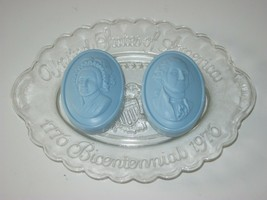 Vintage Bicentennial Plate and Soap Avon George & Martha Washington Plat... - $13.99