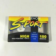 Denom Sport Model SP-H100 100 Minutes Black Sealed Cassette Tape k11 - $21.38