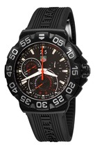 Tag Heuer Men's CAH1012.FT6026 Formula 1 Chronograph Black Rubber Watch - $1,778.77