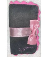 Mary Kay Mk Signature PINK BRUSH 5-Piece Set Makeup Cosmetic Black Mini Case New - $16.82