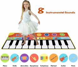 Cyiecw Piano Music Mat w/19 Keys, 8 Musical Instruments, Speaker & Recording image 2