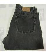 Calvin Klein 1990s Sz 13 32 X 30 Black Denim Jeans Women Mom Button Fly ... - $49.99