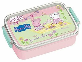 For skater lunch box children lunch box Peppa Pig made in Japan 450ml RB3A - $42.67
