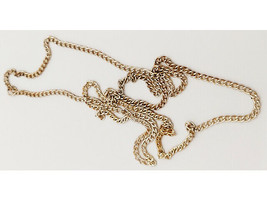 Gold-tone Chain, 78 Inches for Jewelry Making image 2
