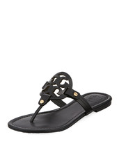 Tory Burch Miller Flat Medallion Sandals - $199.99