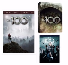 The 100 ALL Season 1-3 DVD Set Complete Series TV Show Collection Lot Ep... - $79.19