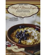 Trader Joe%27s Maple & Brown Sugar Naturally Flavored Instant Oatmeal - $11.99