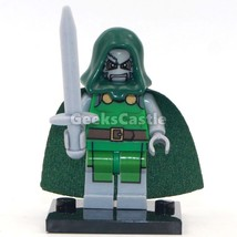 Unbranded Doctor Doom Minifigure Marvel Comics  Fits Lego UK Seller - $3.49
