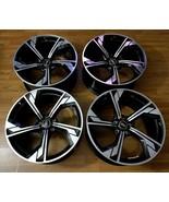 GENUINE OEM AUDI RS5 ALLOY SPORTS WHEELS 20X9 RIMS SET 5X112 PCD BLACK M... - $2,845.25
