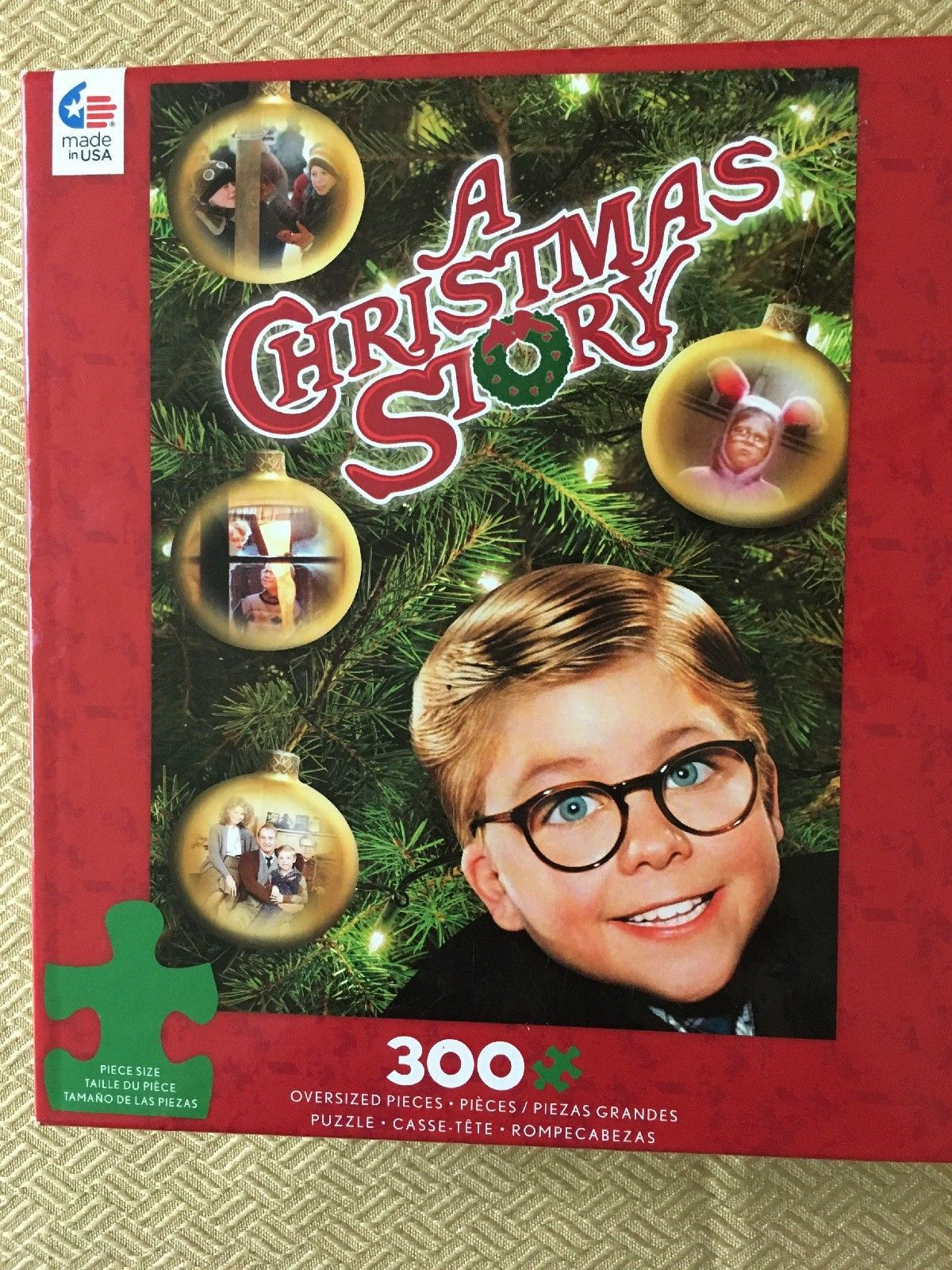 "Primary image for A Christmas Story Jigsaw Puzzle 300 Pieces #2233-03 18""x24"" Brand New by Ceaco"
