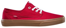 New Vans Unisex Brigata Gumsole Chili Pepper Skate Shoes Mens 7.5 Women 9 - $59.99