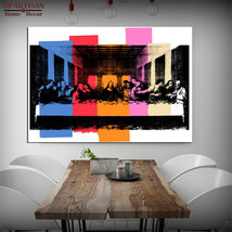 "Study DETAIL OF THE LAST SUPPER, C.1986 pop art print Wall Painting 28X40"" - $34.64"