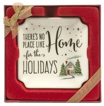 Grasslands Road Holiday Impressions:Trinket Dish There's No Place Like H... - $10.05