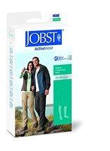 JOBST Activewear Compression Socks, 20-30 mmHg, Knee High, X-Large Full Calf, Bl - $65.92