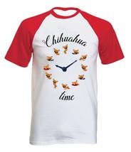 CHIHUAHUA TIME - NEW COTTON BASEBALL TSHIRT ALL SIZES - $26.49