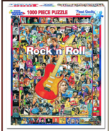 White Mountain Rock 'n' Roll - 1000 Piece Jigsaw Puzzle - $19.99