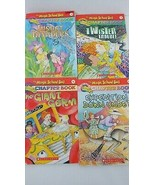 The Magic School Bus chapter 4 book Lot 5 6 10 11 Twister Germ Insect Do... - $9.89