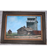 """Beautiful 30""""X20"""" Framed Painted Art Picture On Canvas Country Mill Farm... - $91.98"""