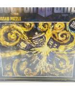 "Doctor Who ""BBC"" Exploding Tardis 1000 Piece Van Gogh Puzzle Sealed Dama... - $29.69"