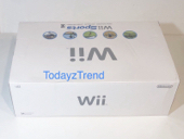 Nintendo Wii Sports White Console System Bundle (NTSC) Wii Sports, New in Box