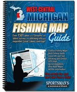 West Central Michigan Fishing Map Guide - $19.99