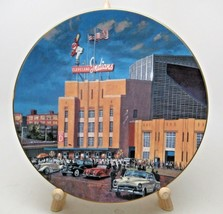 The Bradford Exchange Collector Plate Cleveland Stadium Home of the Indi... - $12.38