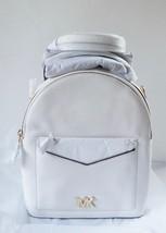 NWT MIchael Michael Kors Jessa  Small Convertible Backpack /  Optic White - $3.202,69 MXN